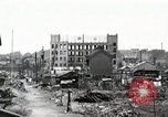 Image of Japanese citizens tear down air raid shelters Tokyo Japan Shiba district, 1945, second 1 stock footage video 65675025162