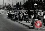 Image of Japanese people wait for street car Tokyo Japan Shiba District, 1945, second 3 stock footage video 65675025163