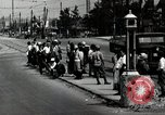 Image of Japanese people wait for street car Tokyo Japan Shiba District, 1945, second 4 stock footage video 65675025163