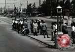 Image of Japanese people wait for street car Tokyo Japan Shiba District, 1945, second 6 stock footage video 65675025163