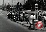 Image of Japanese people wait for street car Tokyo Japan Shiba District, 1945, second 7 stock footage video 65675025163