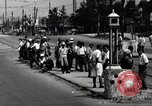 Image of Japanese people wait for street car Tokyo Japan Shiba District, 1945, second 10 stock footage video 65675025163