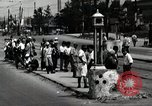 Image of Japanese people wait for street car Tokyo Japan Shiba District, 1945, second 11 stock footage video 65675025163