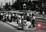 Image of Japanese people wait for street car Tokyo Japan Shiba District, 1945, second 12 stock footage video 65675025163