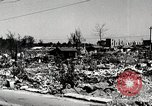 Image of Post war destruction and bomb damage in Tokyo Tokyo Japan Shiba district, 1945, second 2 stock footage video 65675025172