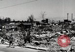 Image of Post war destruction and bomb damage in Tokyo Tokyo Japan Shiba district, 1945, second 6 stock footage video 65675025172
