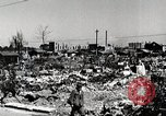 Image of Post war destruction and bomb damage in Tokyo Tokyo Japan Shiba district, 1945, second 12 stock footage video 65675025172
