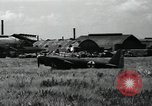 Image of Japanese planes parked in airfield Tokyo Japan, 1945, second 2 stock footage video 65675025177