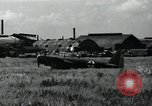 Image of Japanese planes parked in airfield Tokyo Japan, 1945, second 4 stock footage video 65675025177