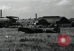 Image of Japanese planes parked in airfield Tokyo Japan, 1945, second 5 stock footage video 65675025177