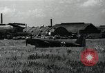 Image of Japanese planes parked in airfield Tokyo Japan, 1945, second 6 stock footage video 65675025177