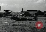 Image of Japanese planes parked in airfield Tokyo Japan, 1945, second 7 stock footage video 65675025177