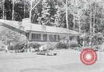 Image of Typical American House Washington DC suburbs USA, 1964, second 1 stock footage video 65675025206