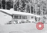 Image of Typical American House Washington DC suburbs USA, 1964, second 2 stock footage video 65675025206