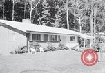 Image of Typical American House Washington DC suburbs USA, 1964, second 3 stock footage video 65675025206
