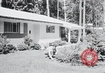 Image of Typical American House Washington DC suburbs USA, 1964, second 8 stock footage video 65675025206