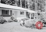 Image of Typical American House Washington DC suburbs USA, 1964, second 9 stock footage video 65675025206