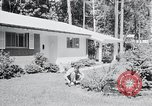 Image of Typical American House Washington DC suburbs USA, 1964, second 10 stock footage video 65675025206