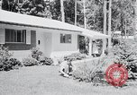 Image of Typical American House Washington DC suburbs USA, 1964, second 11 stock footage video 65675025206