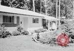 Image of Typical American House Washington DC suburbs USA, 1964, second 12 stock footage video 65675025206