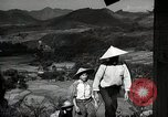 Image of Contrasts two Irrigation System the Traditional and the Modern One Japan, 1950, second 9 stock footage video 65675025233