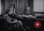 Image of American Woman works as personal secretary New York United States USA, 1950, second 2 stock footage video 65675025250