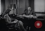 Image of American Woman works as personal secretary New York United States USA, 1950, second 3 stock footage video 65675025250