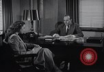 Image of American Woman works as personal secretary New York United States USA, 1950, second 4 stock footage video 65675025250