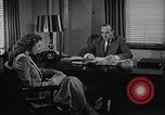 Image of American Woman works as personal secretary New York United States USA, 1950, second 5 stock footage video 65675025250