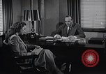 Image of American Woman works as personal secretary New York United States USA, 1950, second 6 stock footage video 65675025250