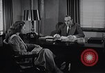 Image of American Woman works as personal secretary New York United States USA, 1950, second 7 stock footage video 65675025250