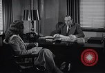 Image of American Woman works as personal secretary New York United States USA, 1950, second 8 stock footage video 65675025250