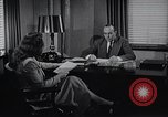 Image of American Woman works as personal secretary New York United States USA, 1950, second 9 stock footage video 65675025250