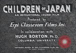 Image of children of Japan Japan, 1940, second 2 stock footage video 65675025252