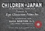 Image of children of Japan Japan, 1940, second 5 stock footage video 65675025252