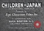 Image of children of Japan Japan, 1940, second 8 stock footage video 65675025252