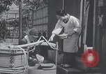 Image of Children learn to write Japanese characters Japan, 1940, second 2 stock footage video 65675025254