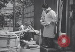 Image of Children learn to write Japanese characters Japan, 1940, second 6 stock footage video 65675025254