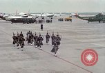 Image of Air Force band prepares for arrival of Major Cooper Washington DC USA, 1963, second 4 stock footage video 65675025269
