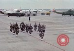 Image of Air Force band prepares for arrival of Major Cooper Washington DC USA, 1963, second 5 stock footage video 65675025269