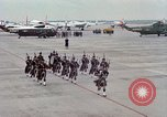 Image of Air Force band prepares for arrival of Major Cooper Washington DC USA, 1963, second 6 stock footage video 65675025269