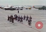 Image of Air Force band prepares for arrival of Major Cooper Washington DC USA, 1963, second 7 stock footage video 65675025269