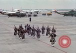 Image of Air Force band prepares for arrival of Major Cooper Washington DC USA, 1963, second 8 stock footage video 65675025269