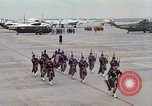 Image of Air Force band prepares for arrival of Major Cooper Washington DC USA, 1963, second 9 stock footage video 65675025269