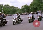 Image of Major Cooper in a open car Washington DC USA, 1963, second 10 stock footage video 65675025271