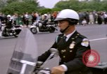 Image of Major Cooper in a open car Washington DC USA, 1963, second 12 stock footage video 65675025271