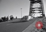 Image of President Kennedy and official party arrive at area 576A Vandenberg Air Force Base California USA, 1962, second 11 stock footage video 65675025277