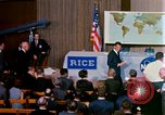 Image of Mercury Spacecraft 16 MA-8 press conference Houston Texas USA, 1962, second 9 stock footage video 65675025287