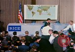 Image of Mercury Spacecraft 16 MA-8 press conference Houston Texas USA, 1962, second 10 stock footage video 65675025287