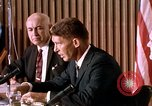 Image of Walter Schirra addresses Mercury press conference Houston Texas USA, 1962, second 5 stock footage video 65675025288